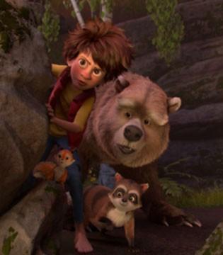动画《我的爸爸是森林之王》寻父少年开启奇幻冒险之旅