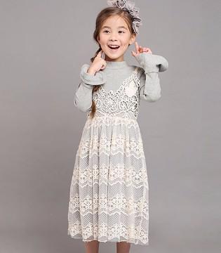 放假啦 可爱的她就穿上SEQB小象Q比品牌童装吧