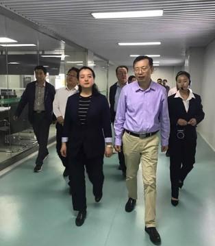 宝鸡市领导莅临和氏乳业集团参观指导