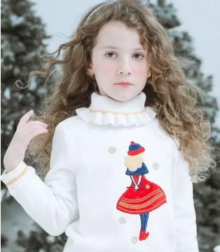 以纯童装趣味毛衣时尚感爆棚 释放潮童天性look