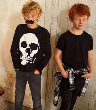 万圣节和瑞典潮牌H&M童装一起搞事情 趣事享不停