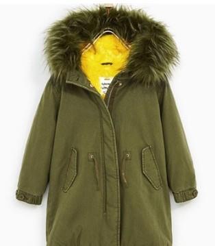 ZARA秋冬新款童装 孩子的寒冬必备时尚装备
