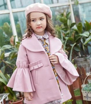 要时尚就要会搭配 叽叽哇哇品牌童装毛呢外套搭配篇