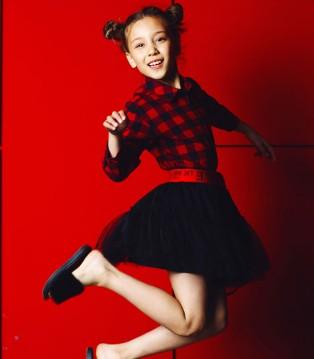 想有范 很简单 穿欧卡星品牌童装2017秋季新品就行了