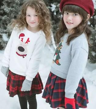 以纯童装绒底卫衣 保暖&时尚2合1 单穿OR内搭都有型