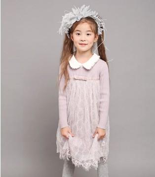 因为有小象Q比童装 我选择做一位气质优雅的小公主