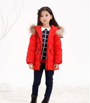 班吉鹿品牌童装时尚羽绒服穿搭 给小公主温暖的冬日