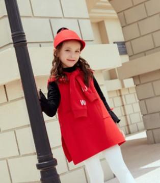 轻松搭配LOOK 叽叽哇哇童装品牌2017秋冬新品上市