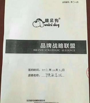 维尼狗品牌童装正式启动 成功秒签陕西、河南省级总代理
