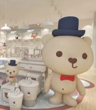 布局百城 志在千店 这只小熊出现在你的城市了吗