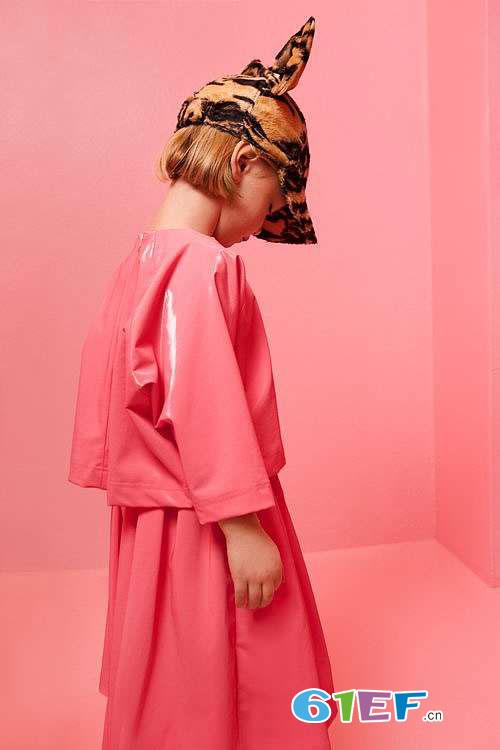 比利时潮牌Caroline Bosmans 2017秋冬童装新品画册