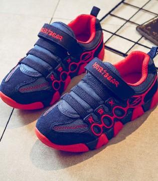 哈比熊中大童休闲跑步鞋 打造秋冬潮范儿