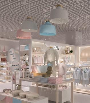 卓儿服装品牌展厅 如此简约时尚