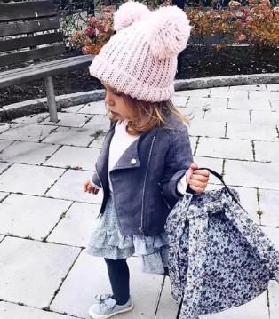 """E-DONE伊顿风尚童装 潮娃冬季必备 时尚从""""头""""开始"""