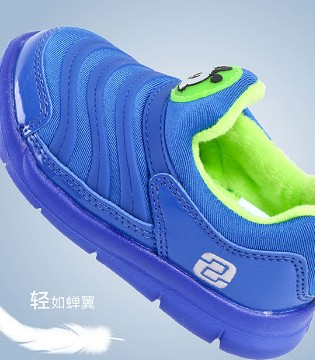 寒冷的冬季 给你家宝贝准备一双巴布豆丰富多彩运动鞋吧