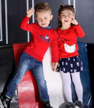 叮当猫品牌童装 一抹鲜艳的红色给宝贝亮眼的时尚