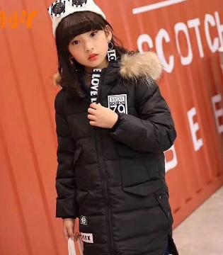 寒冷的冬季 你家宝贝需要伟尼熊时尚保暖羽绒服