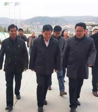 宝鸡市委副书记陈光明等领导一行莅临和氏乳业集团视察指导
