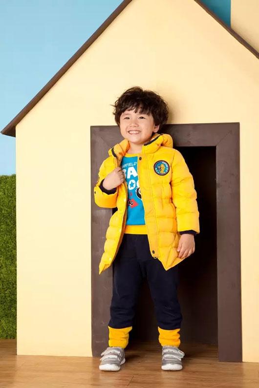 BABiBOO大眼睛比布童装搭配――色彩的选择