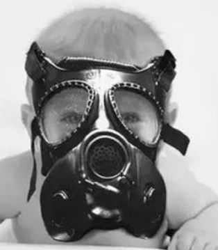 雾霾来袭 E.A MASK来保护孩子 远离雾霾