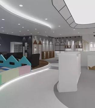 时尚小鱼白云机场旗舰店正式进入店铺测量阶段