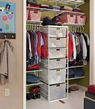 塔哒儿童装:宝贝衣物这样收纳 整洁又美观