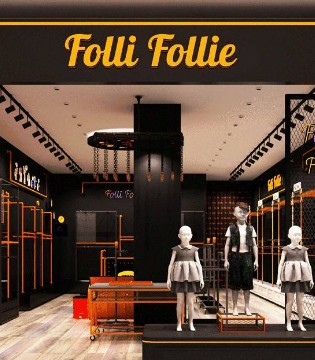 Folli Follie品牌12月份在中国七店同庆 盛大开业