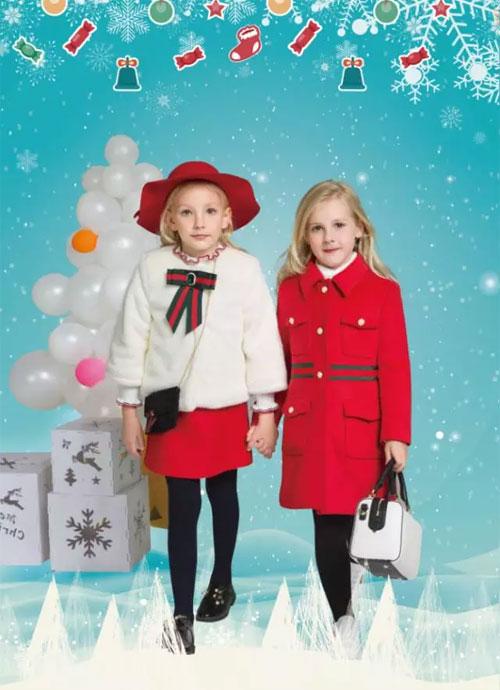 Merry Christmas 今年圣诞趴穿上男生女生童装 超级应景哦