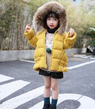 加菲A梦 可以说是最最保暖又卡哇伊的时尚童装了