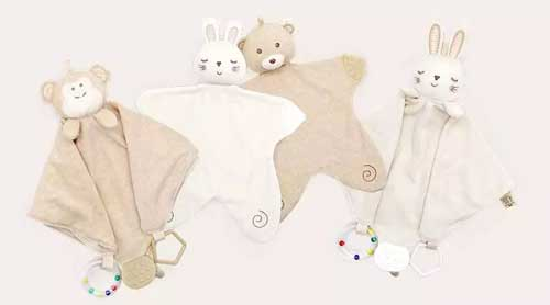 有了它 宝宝睡觉更安稳 COTTONBEBE新品安抚巾