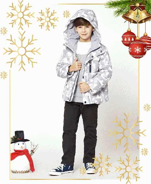 ELNADKIDS 2017冬季新品 圣诞狂欢夜 浓情回馈