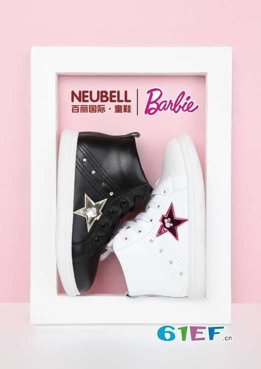 这是圣诞老人偷偷准备的礼物――芭比时尚童鞋