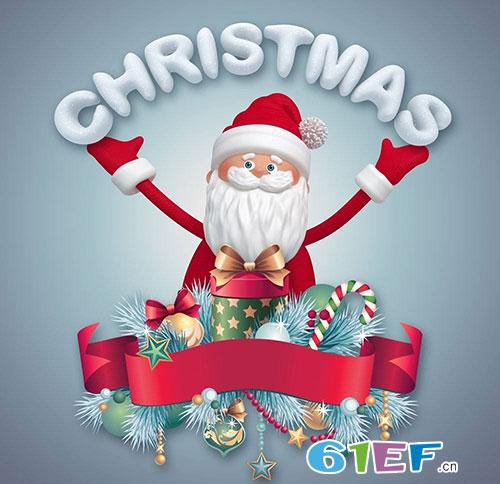 美好的圣诞节如期而至 黑白熊&小积木愿你享受快乐生活