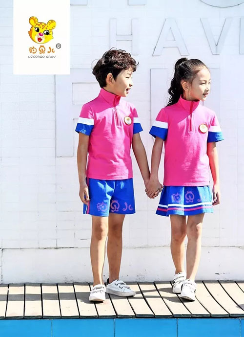 个性童年 快乐成长 豹贝儿2018新款园服正式发布