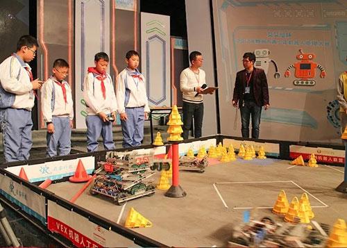 """""""艾艾屋杯""""泉州市青少年机器人电视大赛决赛圆满结束"""