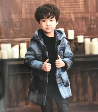 酷小孩童装复古英伦风大衣系列 穿上如此有韵味