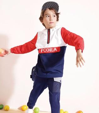 童装品牌PCORA巴柯拉祝你元旦快乐 2018春装全新上市