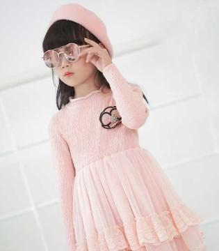 粉红色的甜蜜 小象Q比2017冬季新品公主裙系列