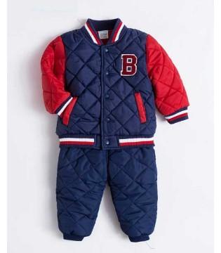 天气越来越冷了 贝贝怡品牌童装保暖时尚两不误