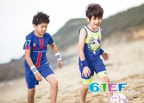穿上CAMKIDS品牌2018春夏新品 海边玩耍起来吧