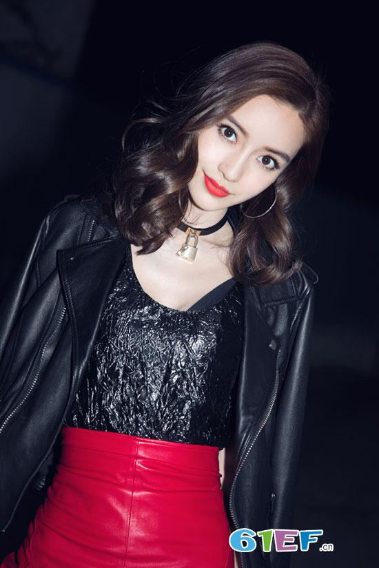 人气辣妈Angelababy时尚写真大片曝光 明艳动人十分吸睛
