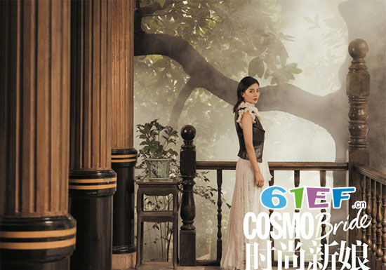 刘涛登《时尚新娘》封面 质感十足的复古写真大片曝光