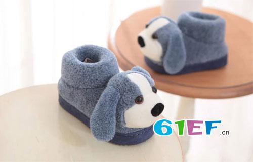 天冷了 甜美可爱的毛毛鞋你给宝贝准备了吗