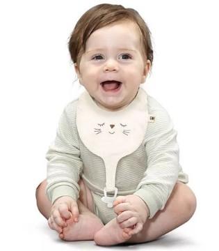 cottonbebe小棉童婴儿多功能围兜新品上市