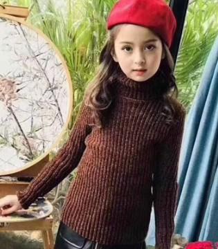小嗨皮2018春季新品 一件毛衣足以让宝贝撑起潮流气场