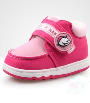 想给宝贝打扮得像小公主 你还需要一双保暖可爱的鞋子