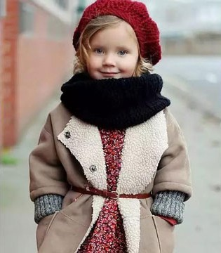 冬季潮童必不可少的衣饰原来是它
