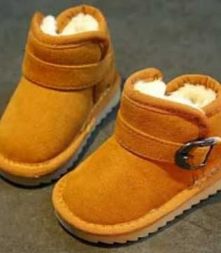 冬季与雪地靴最配 特别是儿童时尚保暖雪地靴