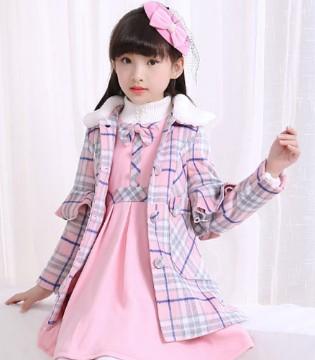 不同颜色呢子外套 让宝贝不管哪个季节都能优雅出行