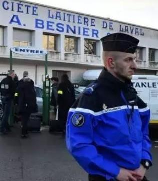 法国奶粉丑闻升级 70名警察突袭兰特黎斯5处办公场所搜查